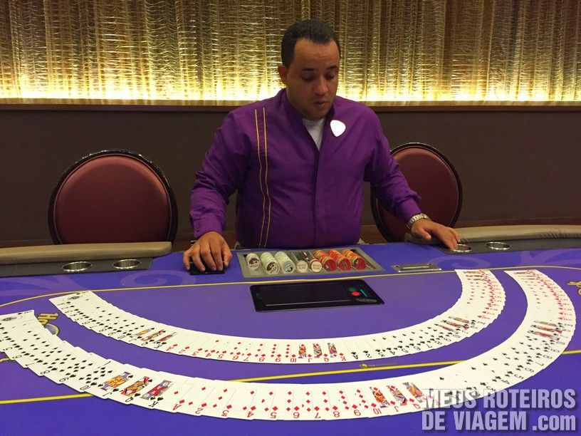Mesa de pôquer no Hard Rock Hotel & Casino Punta Cana