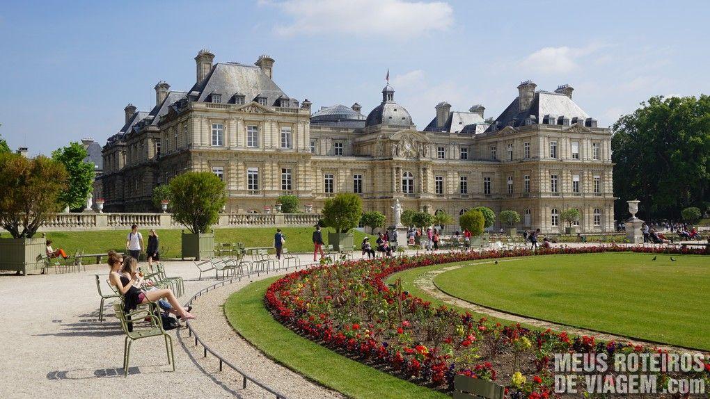 Jardins de Luxemburgo - Paris