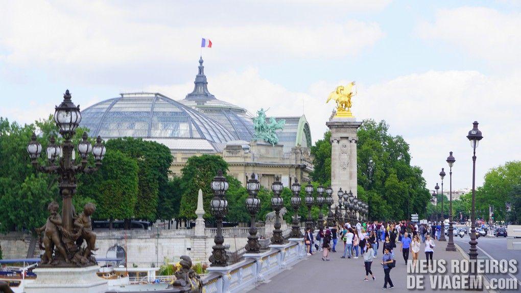 Ponte Alexandre III - Paris, França