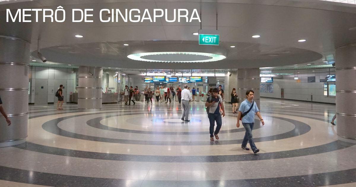 cingapura - metro