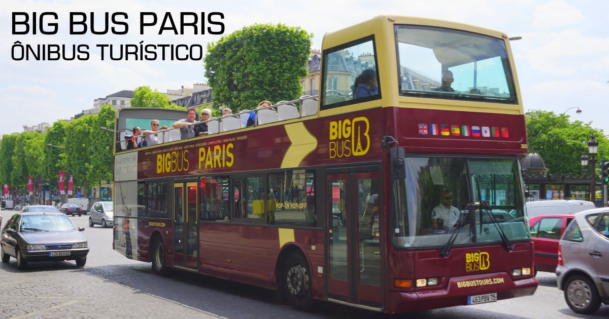 paris - big bus