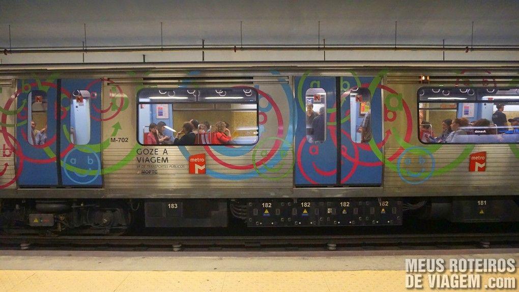 Metrô de Lisboa - Portugal