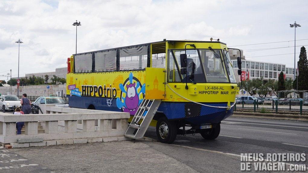 Ônibus-barco Hippotrip - Lisboa, Portugal