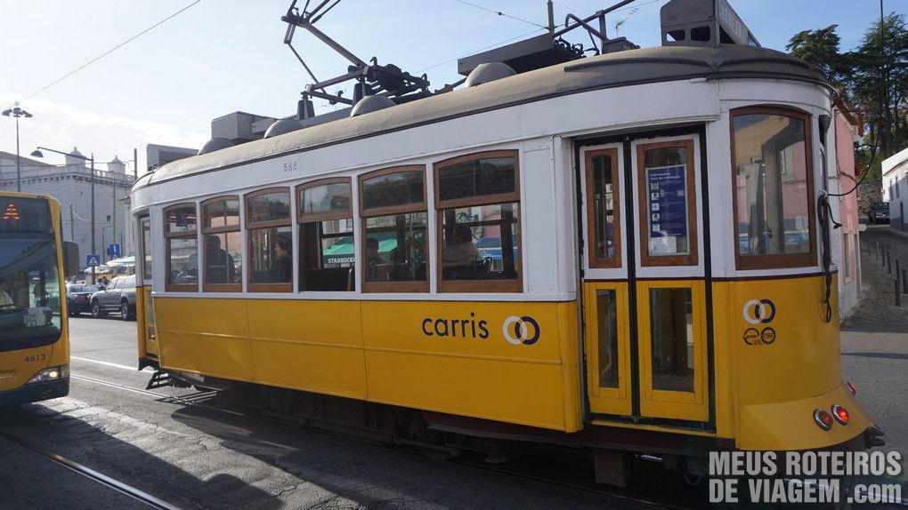Bonde no bairro Belém - Lisboa