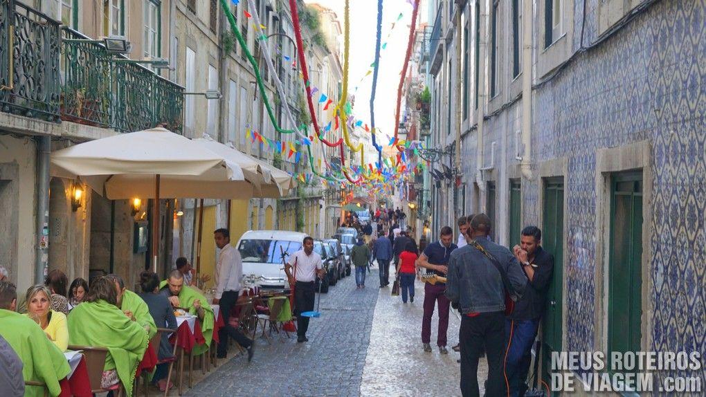 Restaurante no Bairro Alto - Lisboa