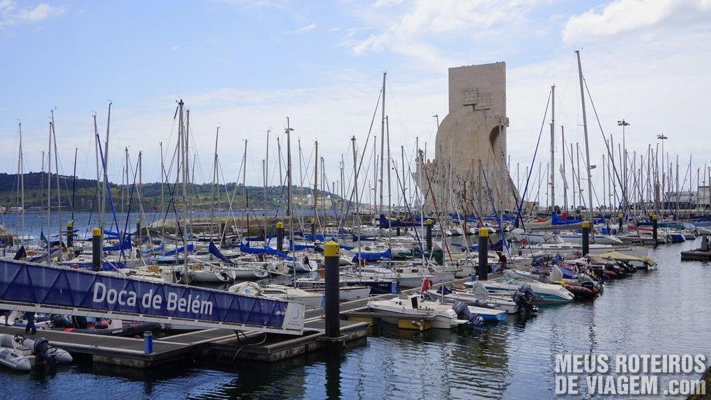 Marina no bairro Belém - Lisboa