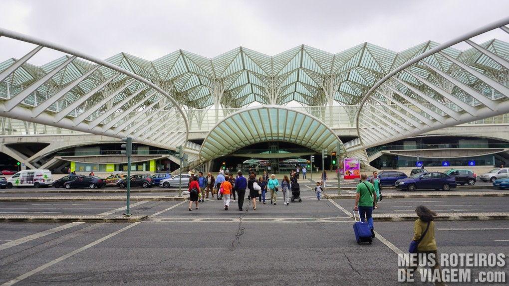 Estação do Oriente - Lisboa, Portugal