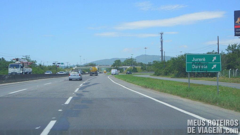 Elevad de acesso a Jurerê na SC-401 - Florianópolis