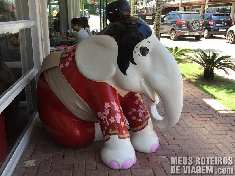 "Elefante ""Haru"", por Simone Michelin"
