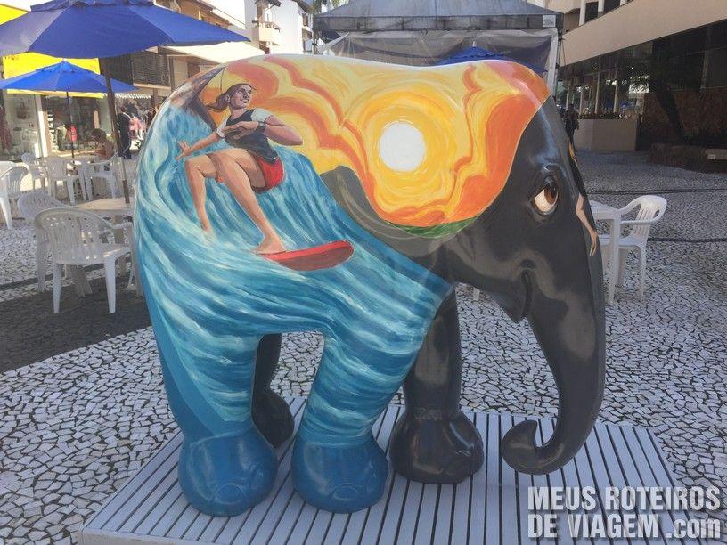 """Elefante """"Kokopelli"""", por Felipe Martini"""