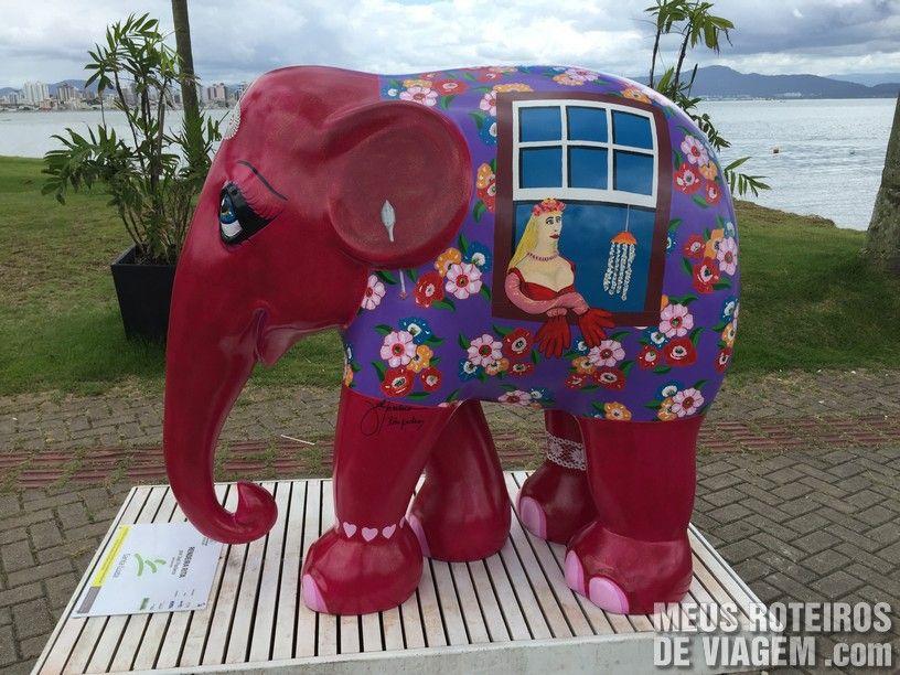 "Elefante ""Rendeira Rita"", por Joel Pacheco"