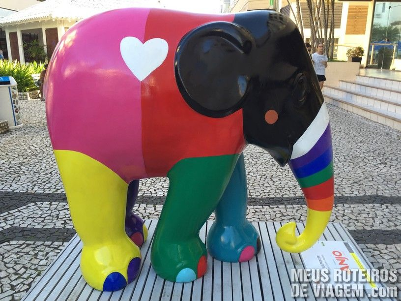 """Elefante """"Elepainter"""", por Luciano Martins"""