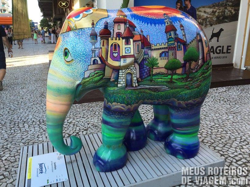"Elefante ""Castelfante"", por Augustin de Lassus"