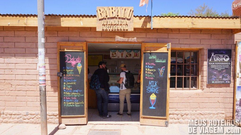 Sorveteria Babalu - San Pedro de Atacama, Chile