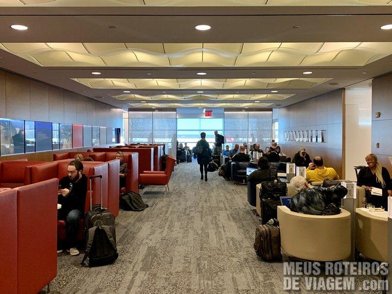 Sala Vip Delta Sky Club - Aeroporto JFK, Nova York