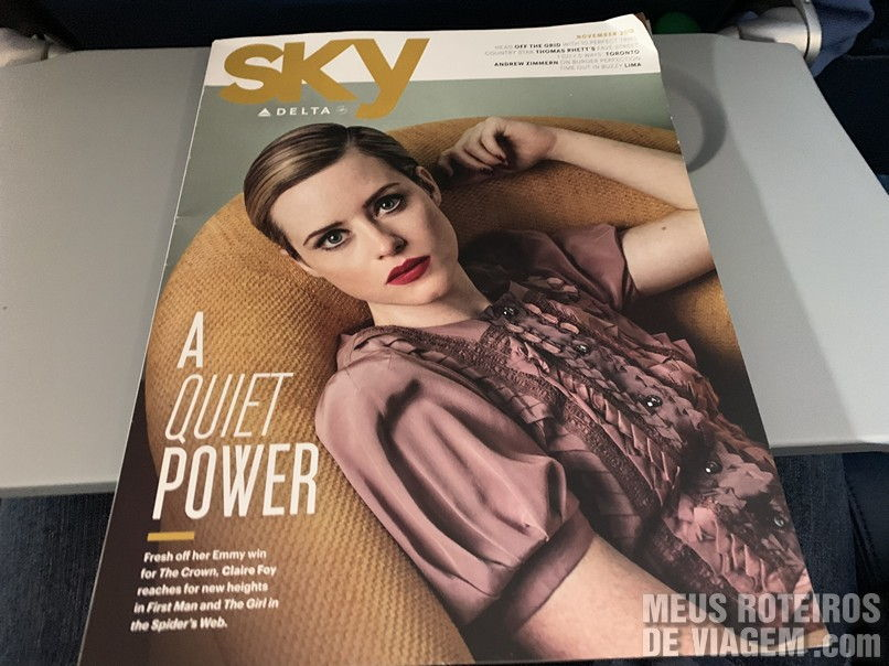 Revista de bordo da Delta Airlines
