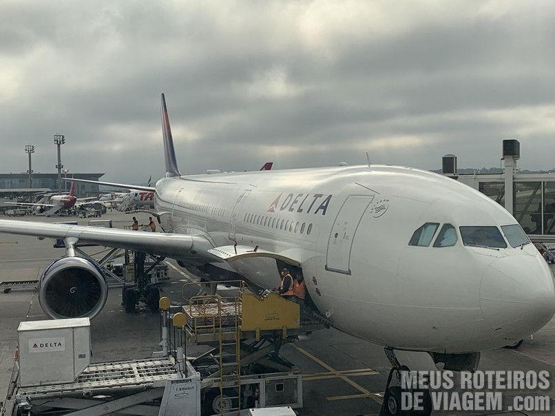 Airbus A330 da Delta Airlines