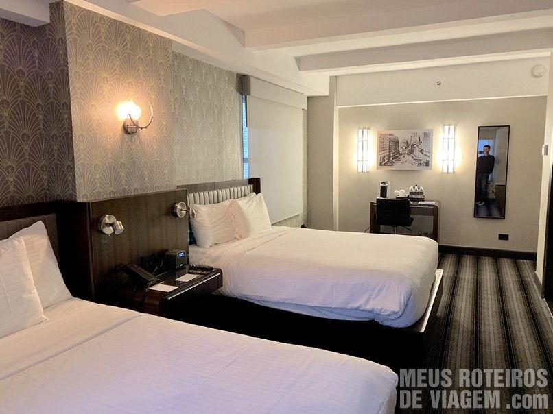 Quarto com duas camas queen - Hotel Edison Times Square, Nova York