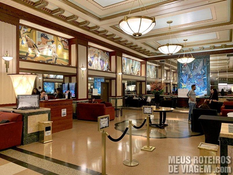 Hall do Hotel Edison Times Square - Nova York
