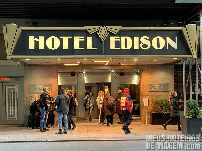 Entrada do Hotel Edison Times Square - Nova York
