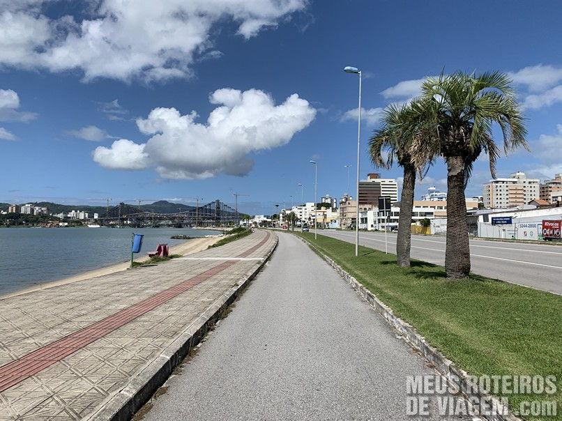 Ciclovia da Beiramar Continental - Florianópolis
