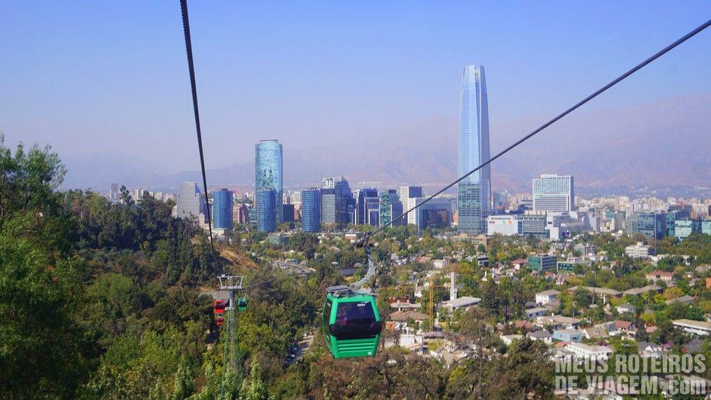 Teleférico Santiago, Chile